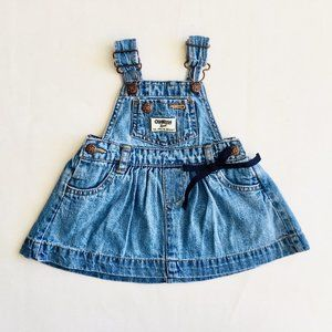 OshKosh Jean Overall Dress
